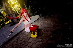 Erza Scarlet | FAIRY TAIL cosplayer CAMI | photo by CAA / ronaldo ichi & valesca braga - www.caamagazine.com.br