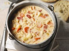When it gets dark early and when you are looking for comfort, you know it's that time of year once again: soup season