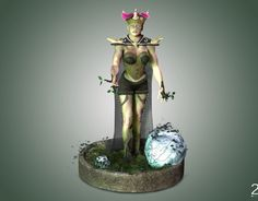 Forest Queen. High quality images in https://www.behance.net/gallery/44943719/The-forest-Queen