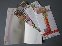 Super Cute Handmade Stationary Set by kayokohokusai on Etsy, $6.00