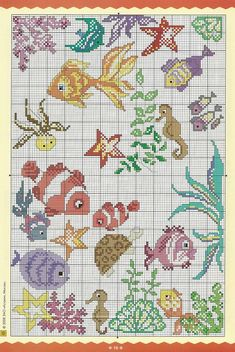 Thrilling Designing Your Own Cross Stitch Embroidery Patterns Ideas. Exhilarating Designing Your Own Cross Stitch Embroidery Patterns Ideas. Cross Stitch Sea, Cross Stitch Animals, Cross Stitch Charts, Cross Stitching, Cross Stitch Embroidery, Embroidery Patterns, Funny Cross Stitch Patterns, Cross Stitch Designs, Fish Patterns