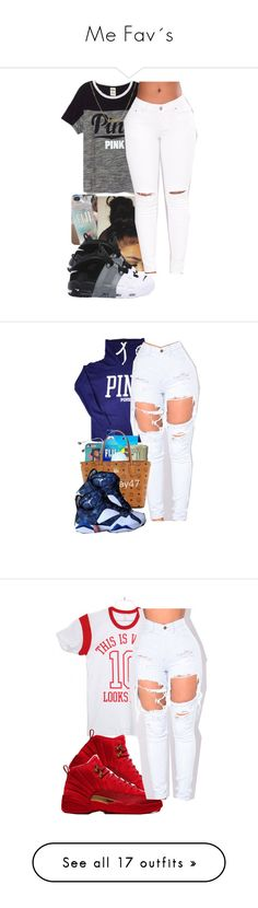 """Me Fav´s"" by her-niya on Polyvore featuring Victoria's Secret, NIKE, Dutch Basics, Casetify, Kate Spade, Michael Kors, Hilfiger, Retrò, Être Cécile and Onzie"
