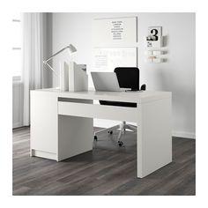 MALM Escritorio - blanco - IKEA
