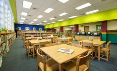 Pictures of modern school libraries   ... School Library by Heimsath Architects - Austin, TX   Libraries