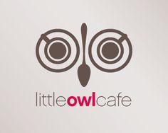 Little Owl Cafe #Logo <<< repinned by www.BlickeDeeler.de