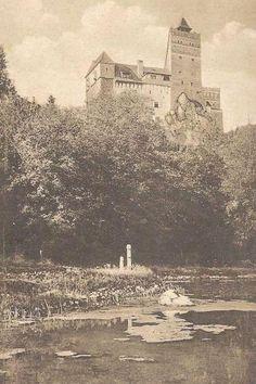 Bran - Lacul Parcului Regal - 1930