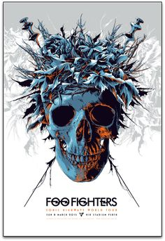 New Foo Fighters Concert Posters by Ken Taylor and Rhys Cooper