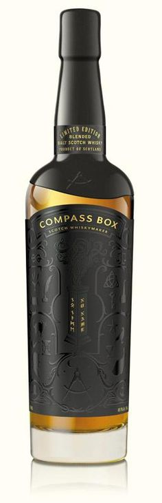 Compass Box Whisky Looking for something a bit naughty? Come and have a look at https://PrideAndPassion.com
