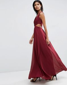 Image 4 of ASOS Side Cut Out Maxi Dress