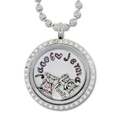 Make your NoveLocket glass memory locket even more special...Customize your hand stamped plate with any message, $42.00