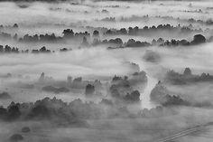 Morning fog by Blaz Gvajc