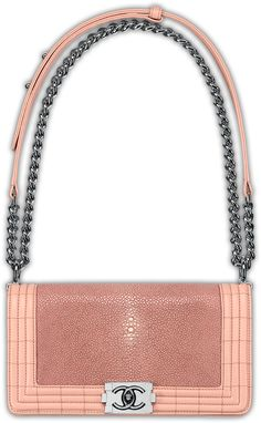 BOY CHANEL | Flap Bag in shagreen rimmed by lambskin | I haven't forgotten about you lover...