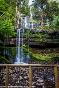 Russell Falls, Mount Field National Park (Tasmania)- www.agirla4wdandatrailer.com
