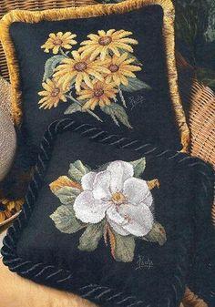 Magnolia Punto de Cruz GRATIS: Flores