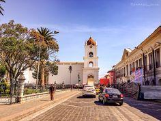 Recorriendo por la bella ciudad de Latacunga, Cotopaxi, Ecuador....!!