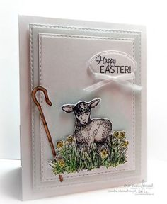 Our Daily Bread Designs Stamp Set: The Shepherd, Our Daily Bread Designs Paper Collection:Pastel Paper Pack 2016, Our Daily Bread Designs Custom Dies: Little Lamb, Ovals, Double Stitched Rectangles