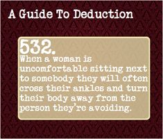 A Guide To Deduction — Suggested by: alwaysandfoeverblue Forensic Psychology, Psychology Facts, Book Writing Tips, Writing Prompts, Story Prompts, Writing Ideas, Guide To Manipulation, A Guide To Deduction, The Science Of Deduction