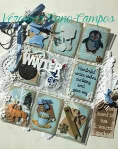Received Pocket Letter - Theme: Winter Wonderland; Veronica Cano-Campos