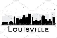 detroit skyline vector silhouettes free detroit pinterest rh pinterest com