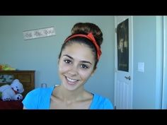 Seventeen Magazine Inspired Back to School Hairstyle - Peppy Updo