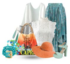 """""""Boho spring (contest entry )"""" by no-where-girl ❤ liked on Polyvore featuring Etro, Oscar de la Renta, Dolce&Gabbana, Betmar, Call it SPRING, Kenneth Jay Lane and Ippolita"""
