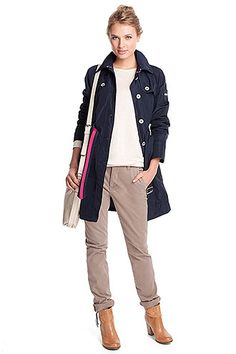 soft taffeta trench coat COLLECTION - Esprit Online-Shopista