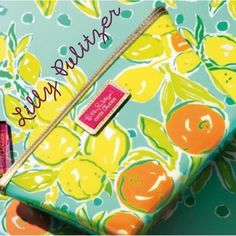 """LILLY PULITZER COSMETIC BAG ESTEE LAUDER/LILLY PULITZER BAG......BRAND NEW...NEW WITH PACKAGING STILL ON  9.5"""" X 6.5"""" (2.5"""" in depth) Lilly Pulitzer Bags Cosmetic Bags & Cases"""