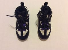 Nike Air Max Charles Barkley Toddler Sneakers Size 9c Black White Purple  | eBay