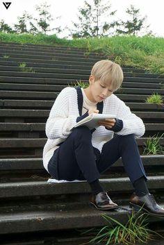 #Seventeen#Jeonghan尹淨漢#Pinwheel