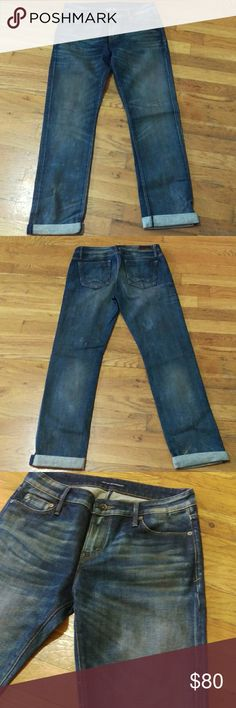 Cult of individuality freedom slouchy jeans 26 These cult of individuality jeans are the freedom slouchy fit (slim tapered boyfriend fit or a high wasted skinny if u are a 27 or 28). This rare wash is called steampunk & is only available in means jeans. Whisker details and rust/grease like stains (seen in 3rd photo)make these so punk rock. These are samples that never went into production (not yet anyway). Last photo just for color reference, its not this wash but I do have that color listed…
