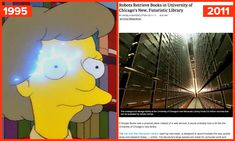 21 Times The Simpsons Bizarrely Predicted The Future....a must read for any Simpsons fan!