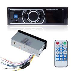 Audio-estereo-de-coche-en-el-tablero-de-Am-Fm-Entrada-Aux-receptor-Sd-Usb-Mp3-Reproductor-De-Radio