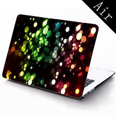 Colorful Dreamlike Bubble Design Full-Body Protective Plastic Case for 11-inch/13-inch New MacBook Air – USD $ 25.99