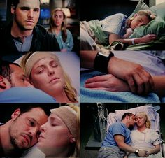 Alex and izzie hook up