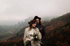 Ρομαντικό elopement στα Μετέωρα