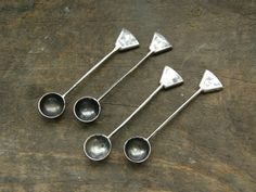 Sterling Silver Salt Spoons