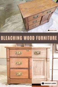 Restore Wood Furniture, Raw Wood Furniture, Refurbished Furniture, Furniture Plans, Painted Furniture, Diy Furniture Painting, Flip Furniture, Antique Furniture Restoration, Restoring Old Furniture