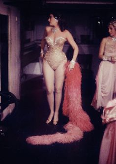 A dancer at the Latin Quarter Nightclub, 1958. Photo by Gordon Parks.