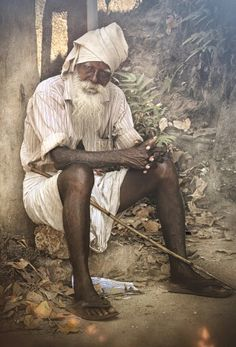 Portrait of Chetan, Varkala, India