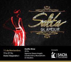 Este sábado se presenta Salta Glamour: El evento une a diseñadores de moda salteños, esteticistas, asesores y profesionales del peinado,…