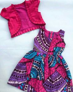 I would love to reproduce this Baby African Clothes, African Dresses For Kids, Dresses Kids Girl, Kids Outfits, Girls Frock Design, Baby Dress Design, Baby Frocks Designs, Kids Frocks Design, African Print Fashion