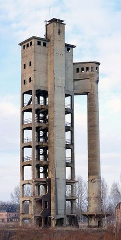 """Acid Tower"" in Zwickau, Germany - former paper factory"