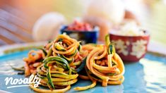 Gombás cukkinispagetti paradicsomszósszal | Nosalty Lidl, Spaghetti, Ethnic Recipes, Food, Essen, Meals, Yemek, Noodle, Eten