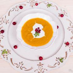 Veggie creamy soup