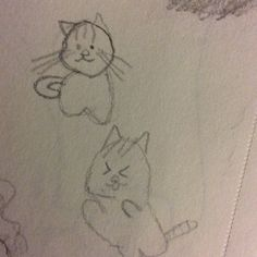 Meow 😊 My Drawings, My Arts, To Draw