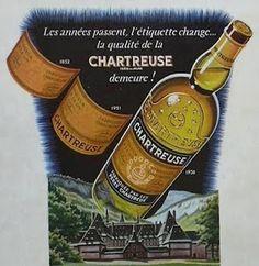 Les années passent, l'étiquette change... la qualité de la Chartreuse demeure !