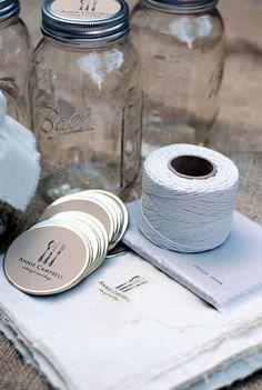DIY Muesli Jars with Labels