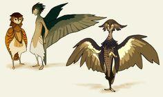 zelda bird people - Google Search