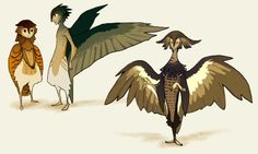 zelda bird people - Google Search