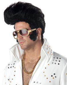 1a6bbc5120 Elvis Rock N  Roll King Costume Wig www.thewigoutlet.com.au Rock
